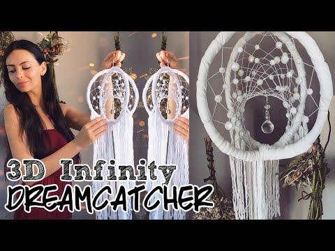 DIY 3D Interlocking Dreamcatcher WebTutorial