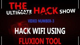 UHS: Hack Wi-Fi using Fluxion Tool ( Bangla Tutorial )