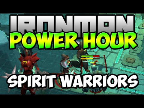 Ironman Power Hour  Loot From Spiritual Warriors