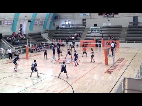 HIGHLIGHTS of Crossroads v Beverly Hills Men's Volleyball