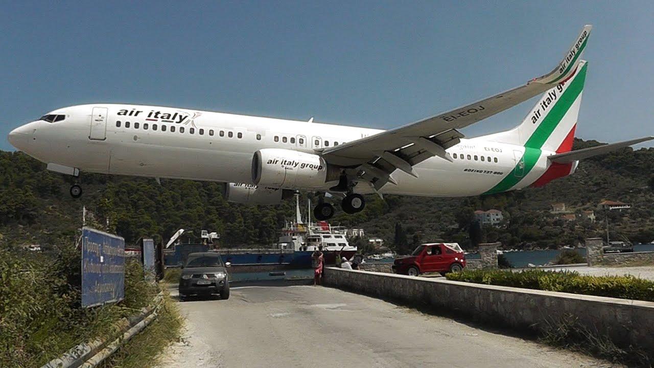 Skiathos, the Second St Maarten! Low Landings and ...