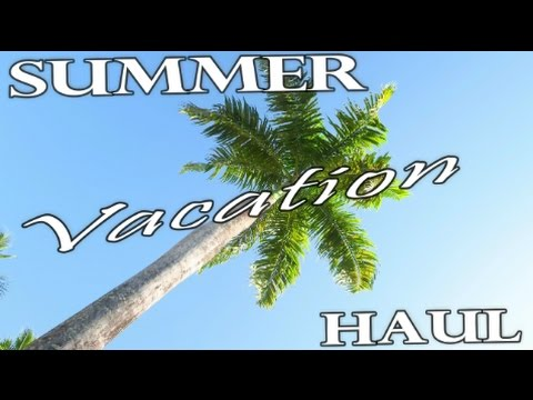 SUMMER VACATION HAUL | Dominican Republic