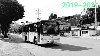 [대양운수] 동두천시 시내버스 60-2번 (구.버스터미…