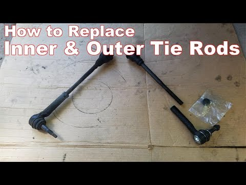 How to Replace Tie Rods Chevy Silverado & GMC Sierra (Inner and Outer Tie Rod Ends))