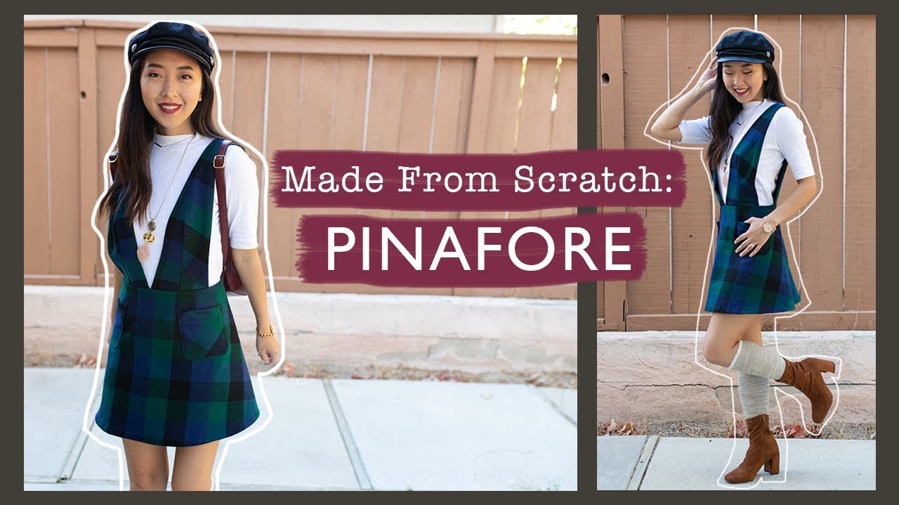 Sew A Pinafore With Me! | Made From Scratch @coolirpa