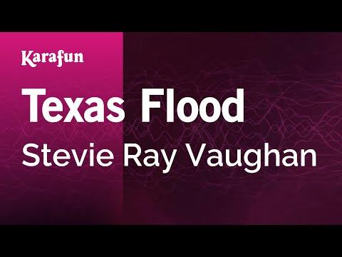 Karaoke Texas Flood - Stevie Ray Vaughan *