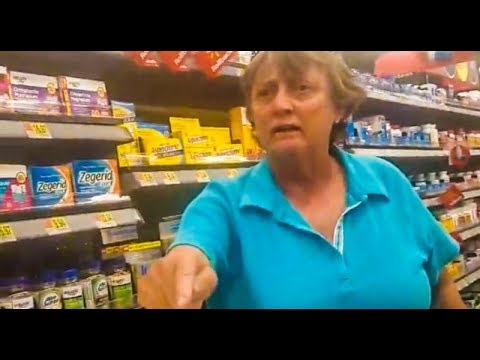WATCH: Racist Woman Goes Off on Latina Shopper in Walmart