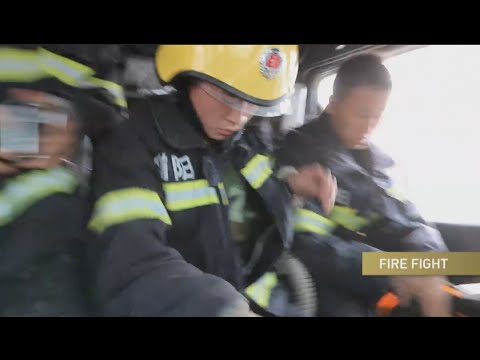 Hangzhou Fire Brigade - Chinese firefighters sacrifice everything to help