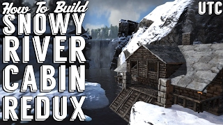 NEW! Snowy River Cabin Build Guide :: How to Build an Ark Winter Cabin :: UTC Winter House Tutorial