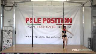 Angela Novelli - Italian Pole Dance Contest 2016