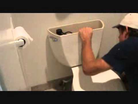 The Toilet From Hell Re Attaching A Toilet Tank Youtube