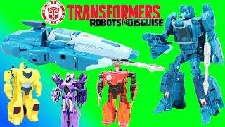 Transformers Generations Hyperfire & Blurr help the Autobots!!