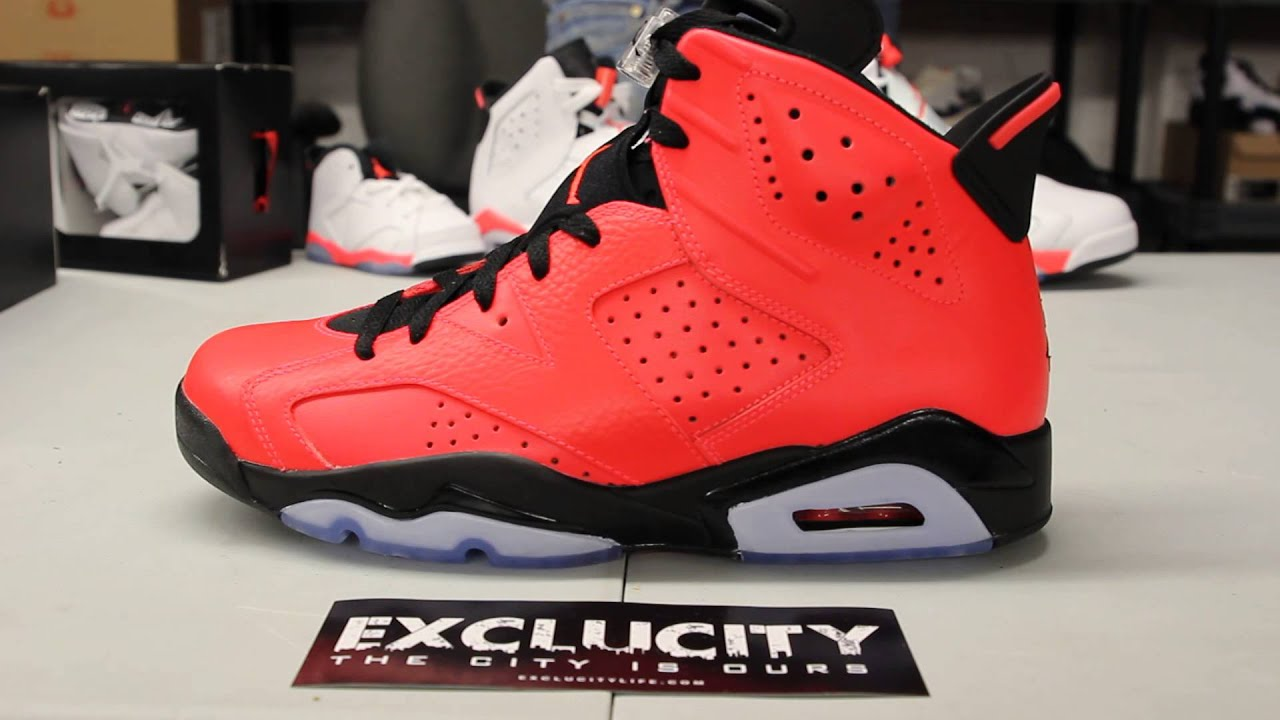 check out e773e c2404 ... cheap air jordan 6 infrared 23u2033 unboxing video exclucity fe799 15908