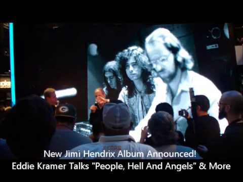 new jimi hendrix album announcement eddie kramer discusses people hell angels 2013 namm. Black Bedroom Furniture Sets. Home Design Ideas