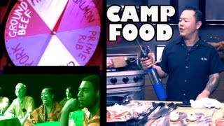 Iron Chef Makes Ultimate Camp Food