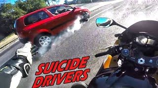 Stupid, Crazy & Angry People Vs Bikers 2019 -ROAD RAGE Caught on GoPro!