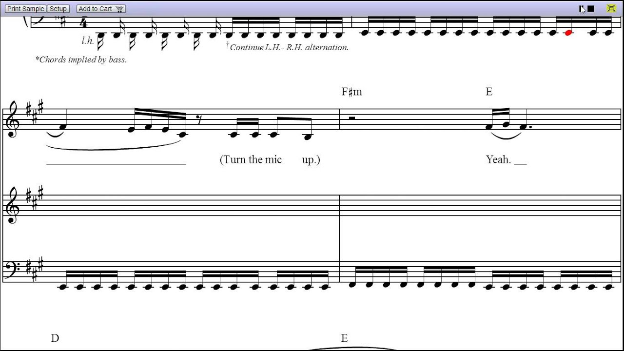Funky Lady Gaga Speechless Piano Chords Composition Beginner