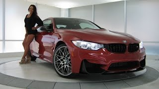 New BMW M4 Sakhir Orange ll Metallic / M Competition Package / Exhaust Sound / 444 HP / BMW Review