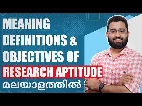 Download Research Aptitude in malayalam Part 1 - Meaning, Definition & Objectives - iPlus Training Solutions