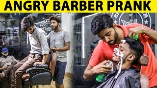 Angry Barber Prank in Pakistan | Part 2 |  Lahori PrankStar