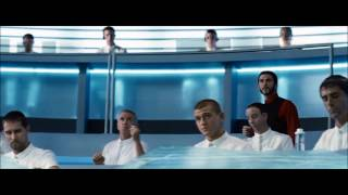 the hunger games forrest fire scene hd