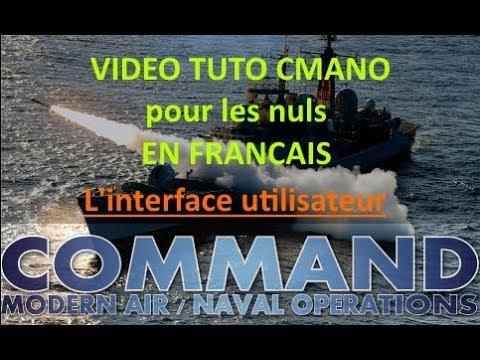 [Fr] Command Modern Air Naval Opérations /TUTO /L'interface Utilisateur