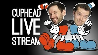 CUPHEAD LIVESTREAM! Outside Xbox Plays Cuphead and Red Dead Redemption Live from Loading Bar!