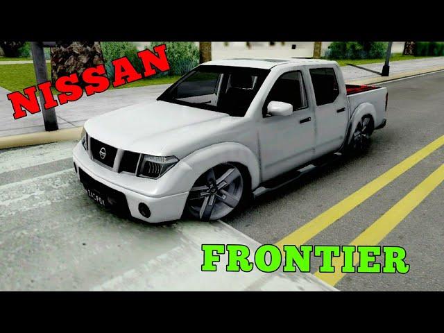 Mod Nissan Frontier Rebaixada GTA SAN ANDREAS ANDROID