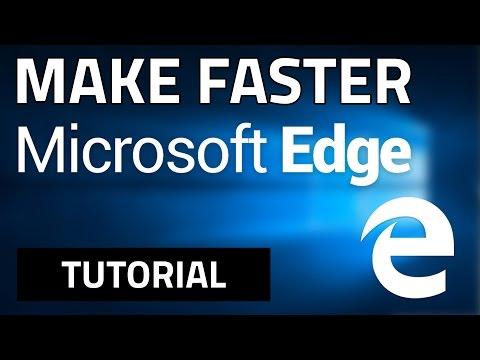 How To Make Microsoft Edge FASTER! (100% WORKS)