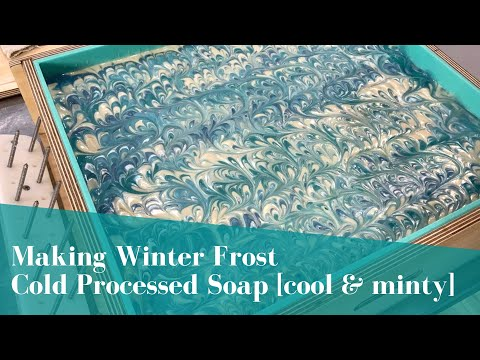 Winter Frost Cold Processed Soap Is Back!