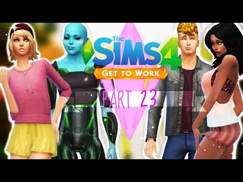 ANGRY POOPING - Let's Play: The Sims 4 Get to Work: Part 23