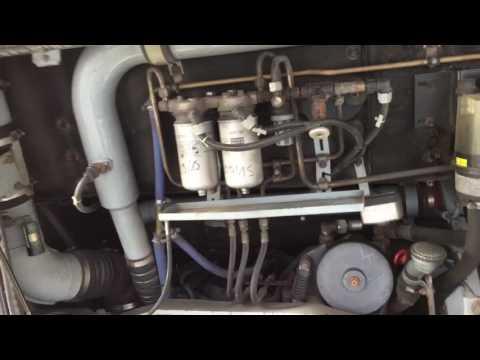 Coldstart Bus engine D0836 MAN A20 NÜ 263 Kaltstart 6.9 litre Busmotor 260hp