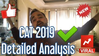 CAT 2019 Detailed Analysis (Expected Cutoff)