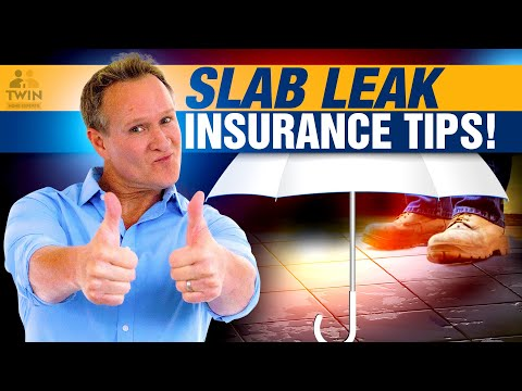 Does Insurance Cover Slab Leaks?