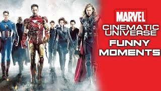 """""""Marvel Cinematic Universe"""" Funny Moments - Episode 1"""
