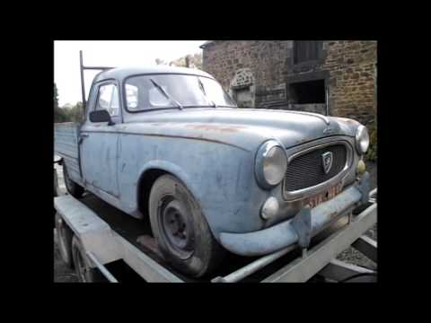 Exceptionnel Peugeot 403 Pick-up U8 van 1957 - YouTube ML96