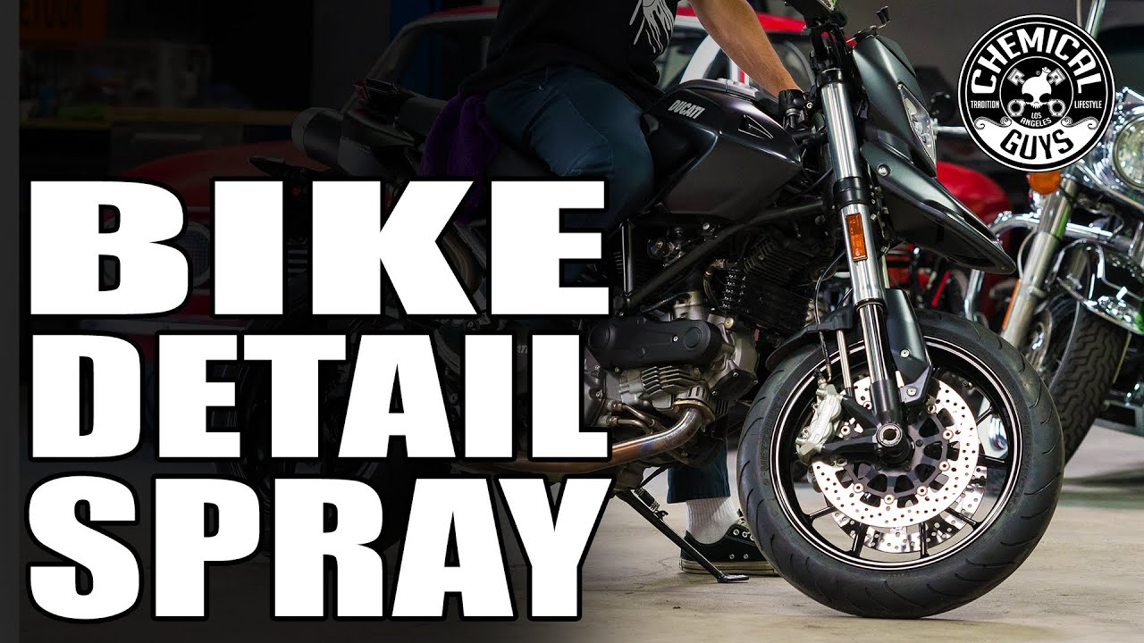 Quick Detail On Modern Sportbike - Chemical Guys Motorcycle Line