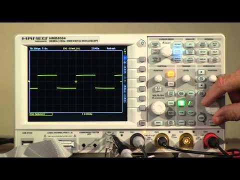HAMEG® HMO2024 Digital Oscilloscope