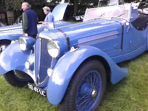 Raby castle vintage car show 2013