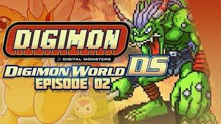 Digimon World DS - Ep 2 - Data Forest,Gabumon Hunt & Ogremon Boss!