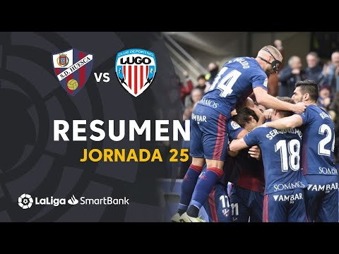 Huesca Lugo Goals And Highlights