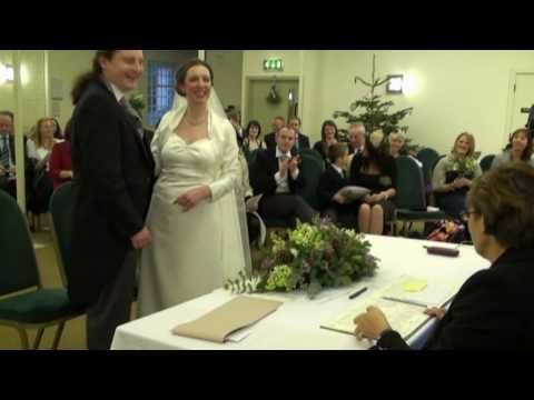 Phill and Laura Coleman - Wedding day highlights