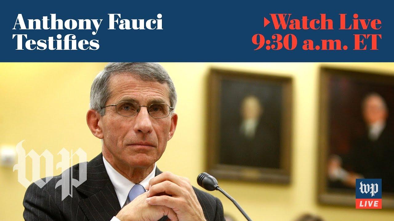 LIVE on May 12 at 9:30 a.m. ET | Anthony Fauci testifies at Senate coronavirus hearing