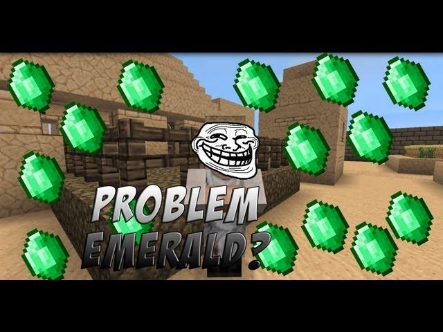 PORQUE LOS ALDEANOS QUIEREN ESMERALDA   Minecraft [ENG Subtitles] Videos De Viajes
