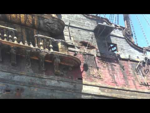 Queen Anne's Revenge Honolulu Drydock