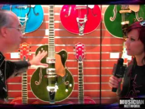 TMNTV - NAMM 2008 - Gretsch Guitars [pt 2 of 2]