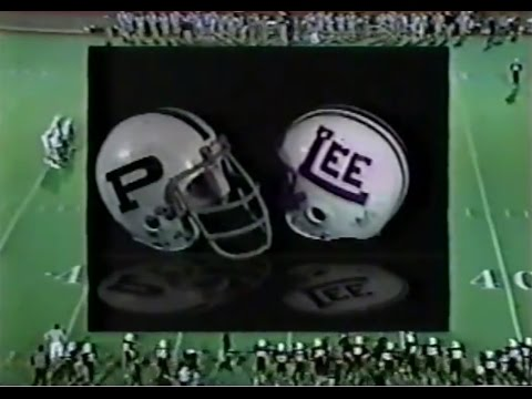 1988 Midland Lee Rebels - Odessa Permian Panthers