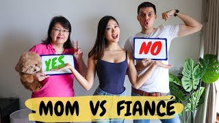 MOM VS FIANCÉ! Who Knows Me Better?! ~ Emi & Chad Video