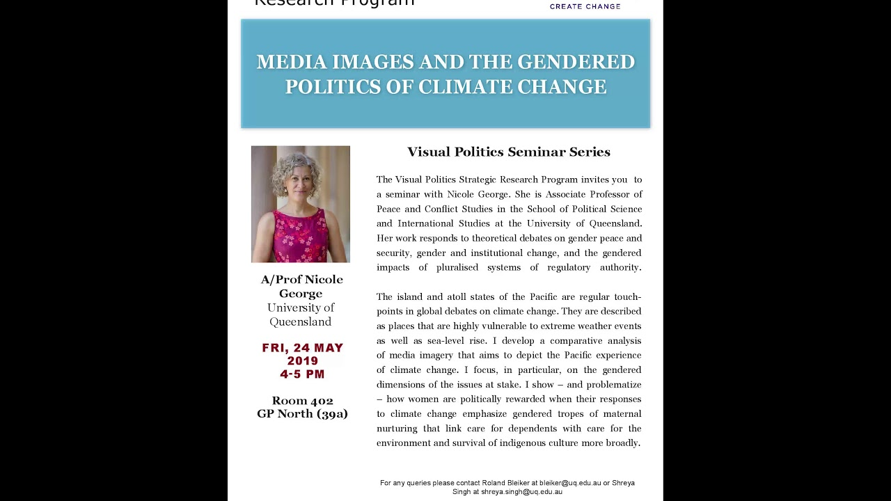 Visual Politics Semester I, 2019 - Nicole George