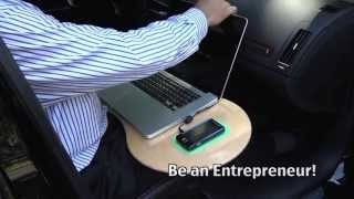 Belly Bean Lap Desk